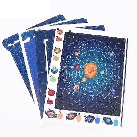 จิ๊กซอว์สามมิติลาย  solar system 42 ชิ้น
