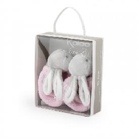 Kaloo- booties rabbit pink 0-3 months