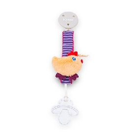 Pacifier holder - chick