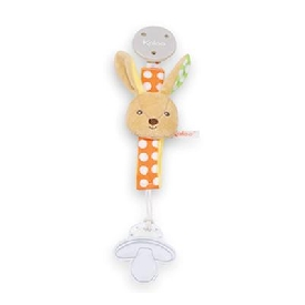 Pacifier holder - rabbit