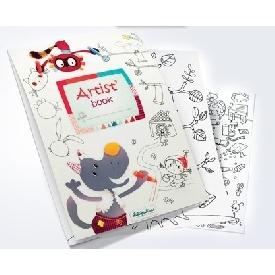 Artist Book - Coloring book (Nicolas)