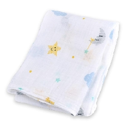 Cotton muslin swaddle - dreamland