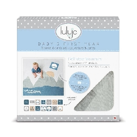 Baby's first year cotton muslin swaddle & 14 cards set - i will move mountain