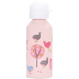 Penny stainless drink bottle - chirpy bird