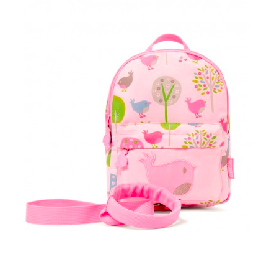 Penny mini backpack with rein-chirpy bird