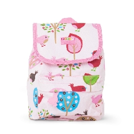 Penny top loader backpack-chirpy bird