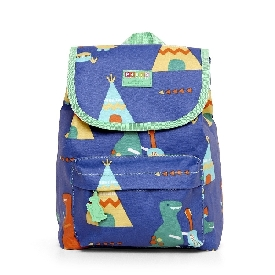 Penny top loader backpack-dino rock
