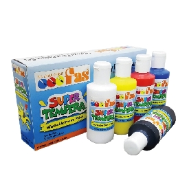 Fas super tempera primary colour set 5 x 100 ml