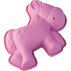 Silicone cake mold Horse