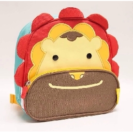 Insulated lunch bag - red (marcus the lion)