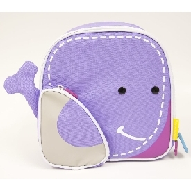 Insulated Lunch Bag - Purple (Willo The Whale)