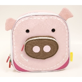 Insulated Lunch Bag - Pink (Pokey The Pig)
