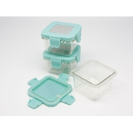 Tritan air tight container - 4oz x 3pcs
