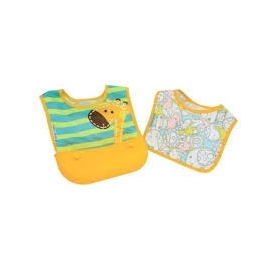 Travel bib (set of 2 bibs)  - lola