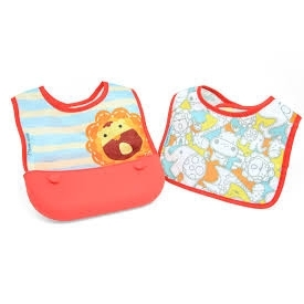 Travel bib (set of 2 bibs)  - marcus