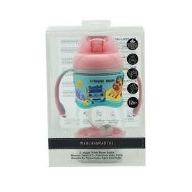 2-stage tritan straw bottle - pink