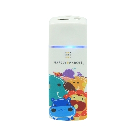 Portable ionized air purifier - colorful