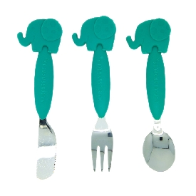 Cutlery set - ollie (green)