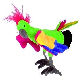 Hand puppet - parrot