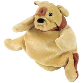 Hand puppet - dog