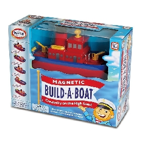 Magnetic build-a-boat