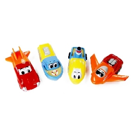 Magnetic mix or match vehicles jr.