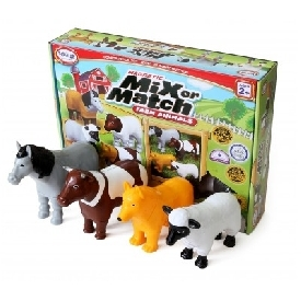 Mix or Match Farm Animal