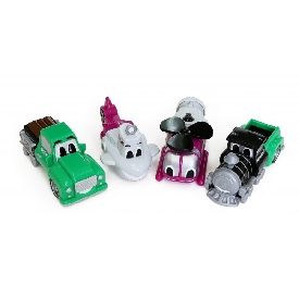 Magnetic mix or match vehicles jr. 2