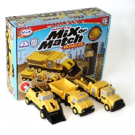 Mix or match vehicles construction