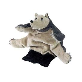 Hand puppet - wolf