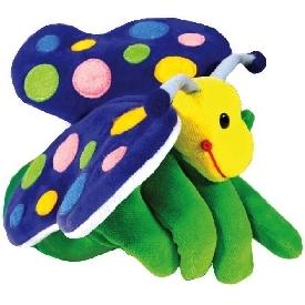 Hand puppet - butterfly