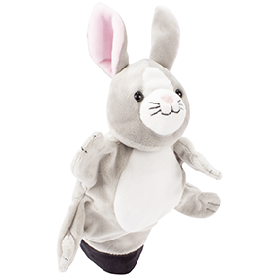Hand puppet - rabbit