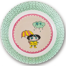 Jennifer deep plate