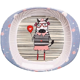 Michelle zebra soup bowl