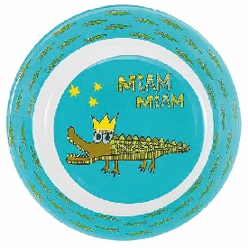 Crocodile deep plate
