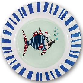 Mr.fish deep plate