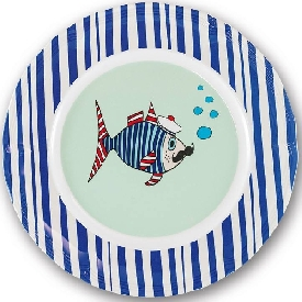Mr.fish plate