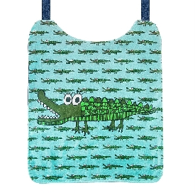 Crocodile kids bib