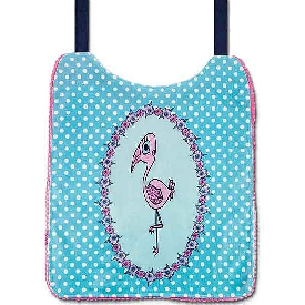 Pink Flamingo Kids Bib