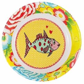 Mrs.Fish Deep Plate