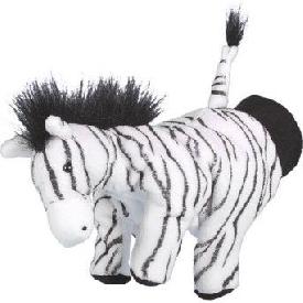 Hand puppet - zebra