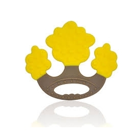 Silicone teether - apple tree
