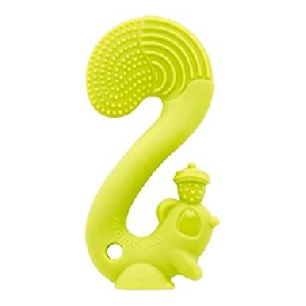 Silicone teether - squirrel