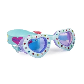 Breakfast at the pool - tiffany blue heart