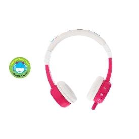 Inflight foldable buddyphones pink
