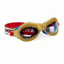 แว่นตาว่ายน้ำแฟชั่น สำหรับเด็ก รุ่น marvelous-swim flash gold