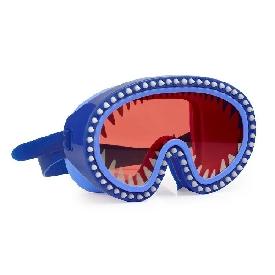 แว่นตาว่ายน้ำแฟชั่น สำหรับเด็ก รุ่นshark attack mask chewy blue lens