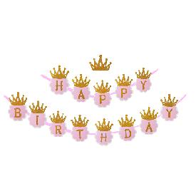 Hbd crown banner