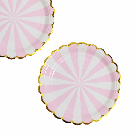 Party paper plate 100b