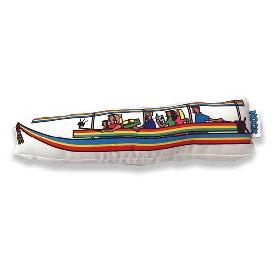 Soft Toy Bangkok Longtail boat